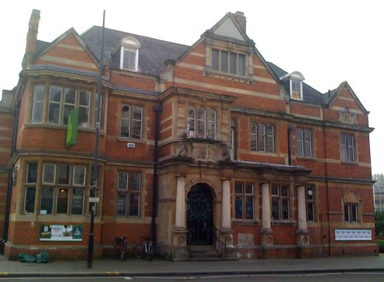 The Passmore Edwards Library Shepherds Bush, now the home of the Bush Theatre