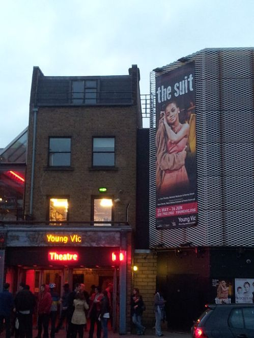 Young Vic Theatre by Jakebrook [Wikimedia]