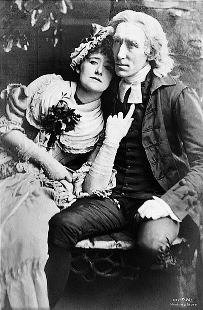 Dame Ellen Terry & Sir Henry Irving © Sarah Vernon