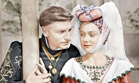 Renée Asherson in the 1944 film Henry V with Laurence Olivier.