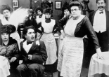 With Mabel Normand and Charles Chaplin in Tillie's Punctured Romance