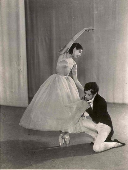 Margot Fonteyn and Robert Helpmann photographed on the 11th of February, 1936. Royal Ballet.