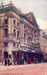 Albery Theatre, St. Martin's Lane, London. From a postcard circa 1905. [Wikimedia]