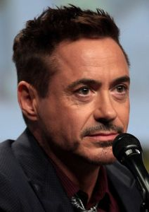 Downey at the 2014 San Diego Comic Con International [Wikipedia]