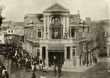 The Theatre Royal after the fire. 1887.