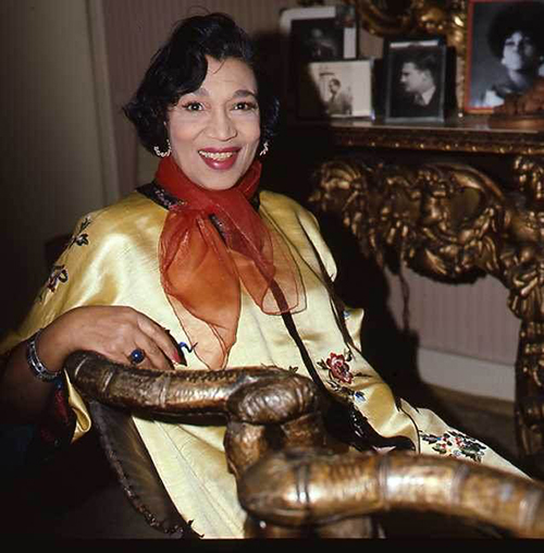 Elisabeth Welch in 1977 by Allan Warren [Wikipedia]