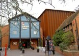 The Courtyard Theatre The RSC's temporary theatre during the rebuild of its main theatre a few hundred metres away [Wikimedia]