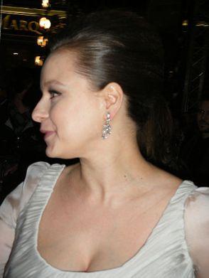 Morton at the 2008 Edinburgh Film Festival. [Wikipedia]