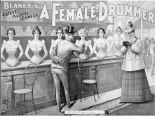 a-female-drummer-play-poster