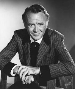 John Mills circa 1965. Photo by Gabi Rona [Wikimedia]