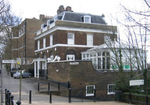 The Wick on Richmond Hill in Richmond, Greater London, was the family home for many years [Wikipedia]