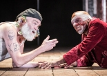 An honourable performance from Kevin R McNally as Lear and Burt Caesar as Gloucester in Nancy Meckler's 'King Lear' Marc Brenner