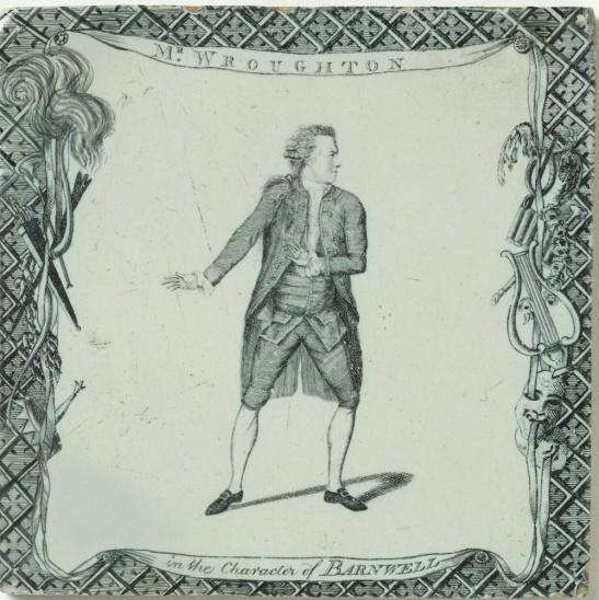 Richard Wroughton as Barnwell. courtesy of V&A Museum