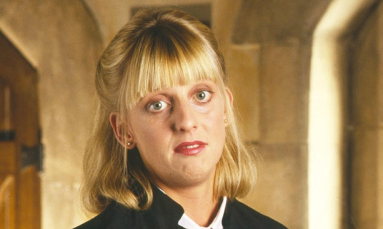 Emma Chambers as Alice in The Vicar of Dibley. Photograph: Alamy