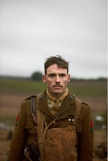 Sam Clafin as Captain Stanhope in 'Journey's End'. (© Nick Wall)