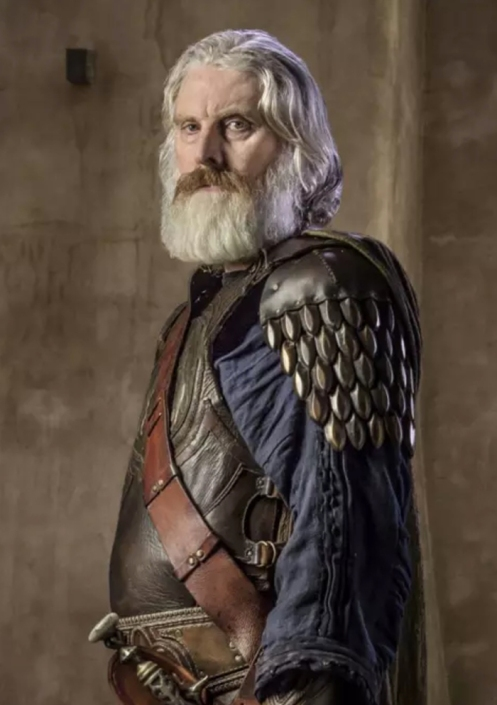 David Threlfall as Priam Photo: Graham Bartholomew