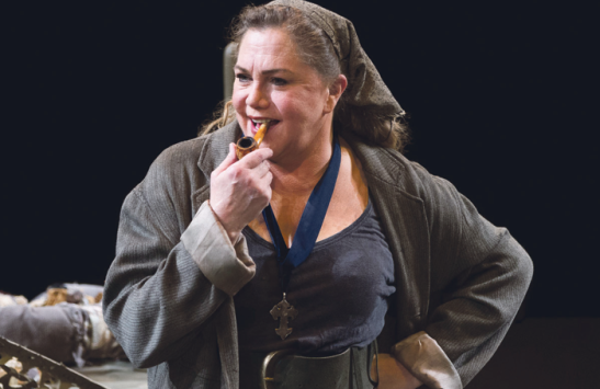 Turner in Mother Courage and Her Children at the Mead Center for American Theater in 2014. Photo: Teresa Wood