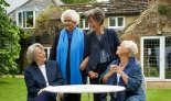 Quirky individuality … from left, Maggie Smith, Joan Plowright, Eileen Atkins and Judi Dench in Nothing Like a Dame. Photograph: BBC/PA