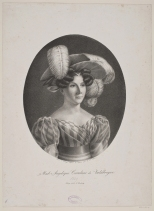 Mme Angelique Catalani de Valabregue, J.F. Moeller, 1829. Courtesy of National Museum of Denmark