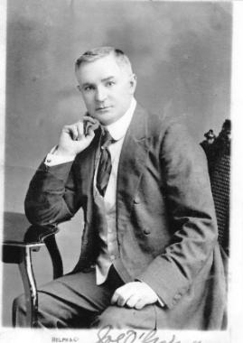 "Joe O'Gorman Senior 1863 - 1937. ""Irish And Proud Of It"". First Chairman Variety Artistes' Federation. King Rat."
