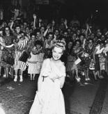 Romy Schneider at Cannes, 1961