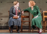 Nicola Coughlan and Lia Williams in The Prime of Miss Jean Brodie at the Donmar Warehouse. Photograph: Manuel Harlan