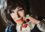 Actor Fenella Fielding, who celebrates her 90th birthday on 17 November. Photograph: Sarah Lee for the Guardian