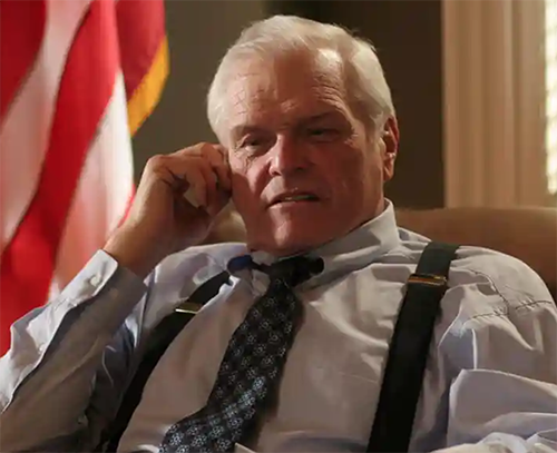 Brian Dennehy in The West Wing. Photograph: Ronald Grant