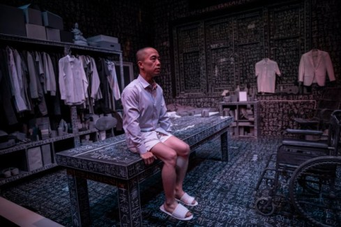 A Fiend's Diary (2019) directed and performed by Oliver Chong. He won a Best Actor award for this performance.