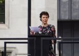 Helen McRory Speaks at the unveling of the Millicent Fawcett Statue, April 2018