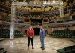 Bryony Shanahan and Roy Alexander Weise at the Royal Exchange. Photograph: Gary Calton/The Observer