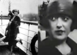 Mabel Normand happily waves goodbye to New York — then sneers.