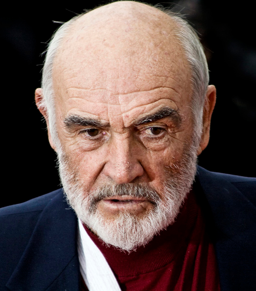 Sean Connery at the 2008 Edinburgh International Film Festival Wkimedia